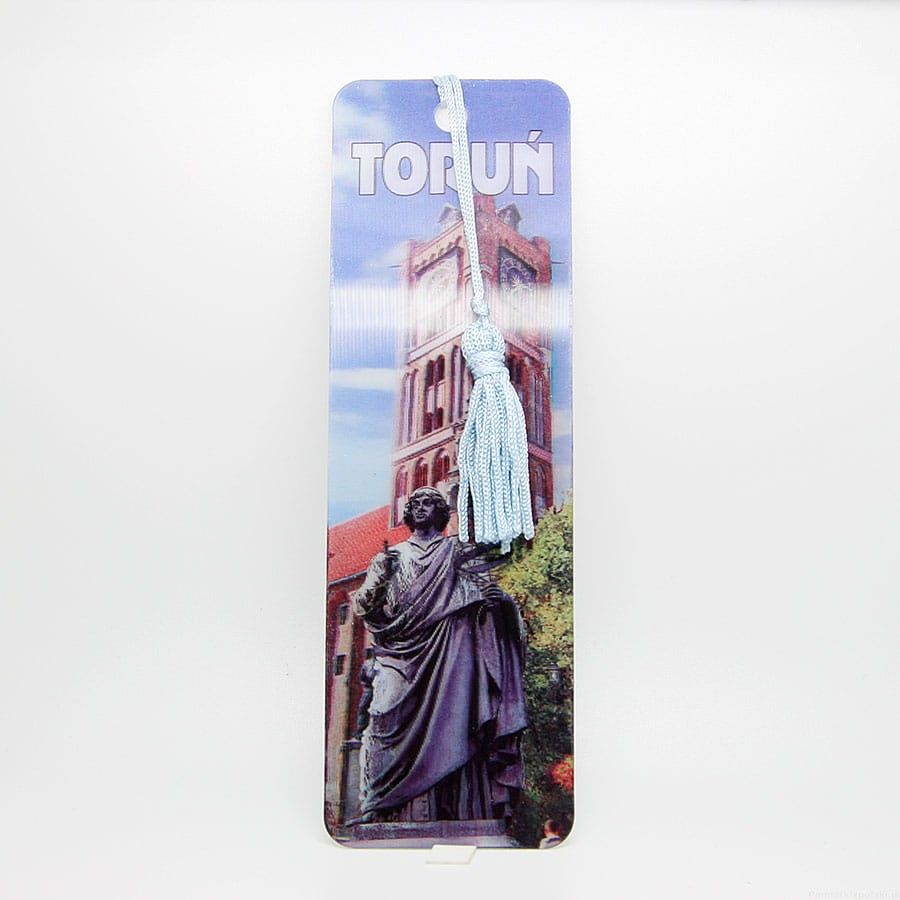 Zakładka do książki 3D - Toruń
