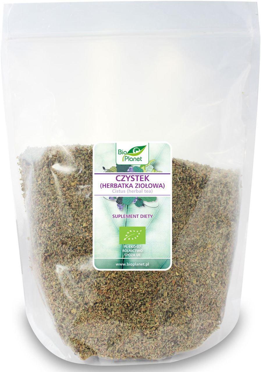 Czystek herbatka ziołowa bio 1 kg - bio planet