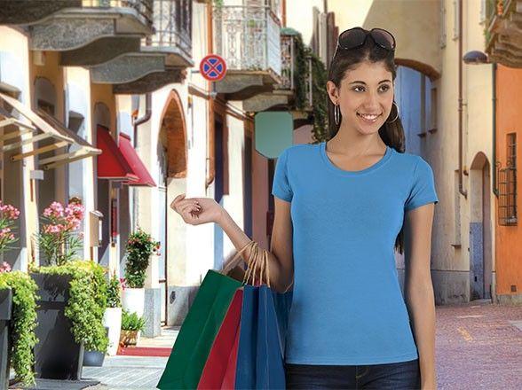 T-shirt damski TIFFANY krótki rękaw