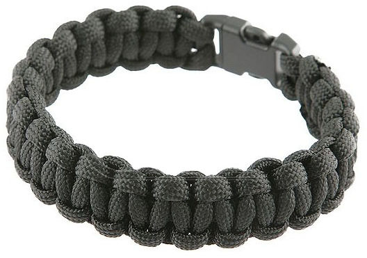 Bransoletka Paracord 550 Black