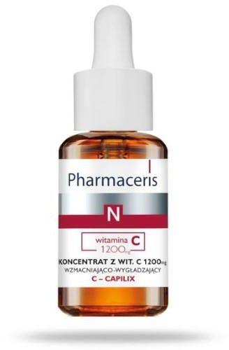 Pharmaceris N C-Capilix koncentrat z witaminą C 1200mg 30 ml [KUP 2 produkty Pharmaceris N = Tonik-mgiełka wzmacniający naczynka 1 sztuka]