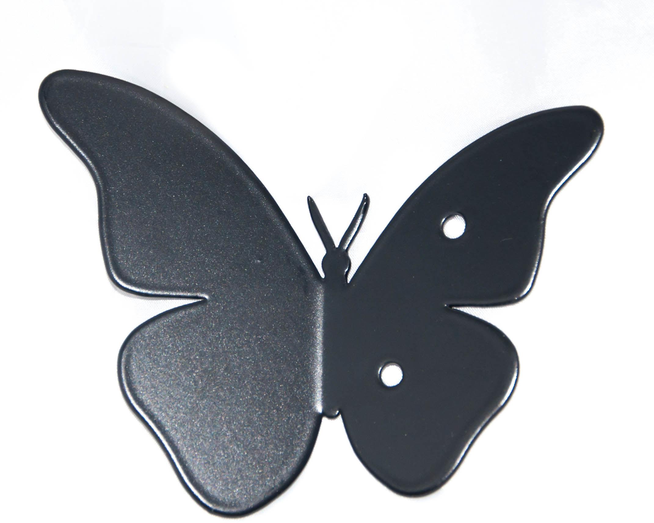 HNG wieszak na ubrania MOTYL czarny,5907443964027