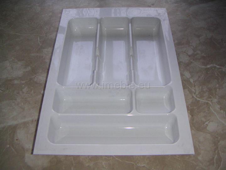 Wkład szuflady 490x40 biały (34cm x 49cm x 5cm)