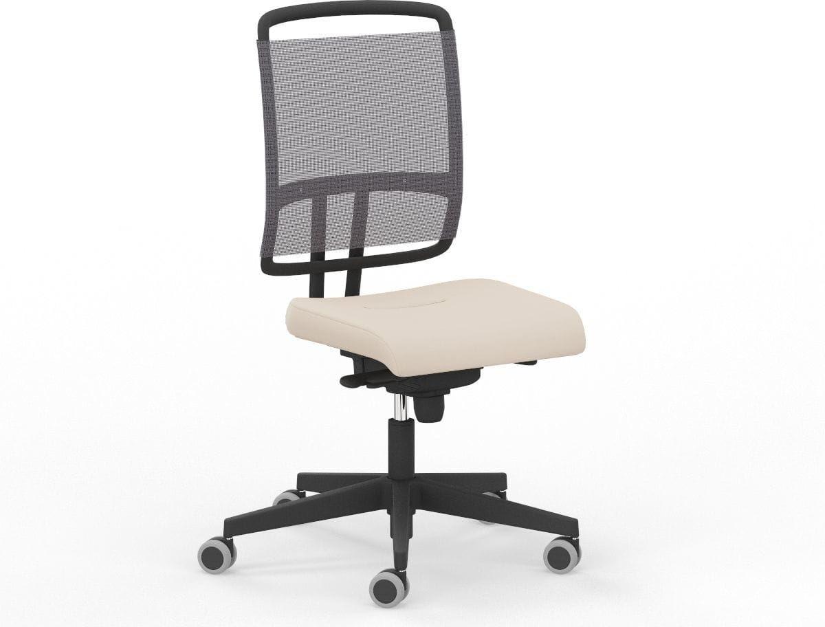 Fotel Biurowy Nowy Styl @-SENSE-PW-BL FS Black