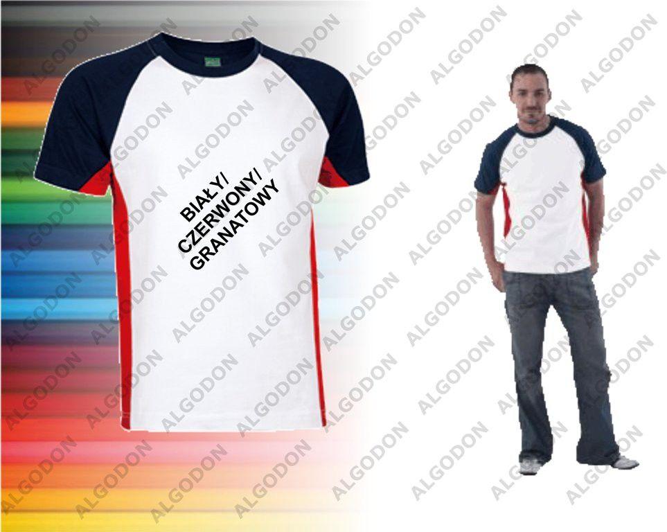 T-Shirt kolorowy krótki rękaw bawełna XS-2XL VULCAN VALENTO