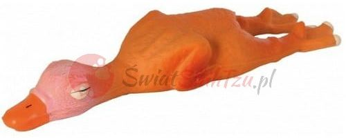 Trixie Gęś lateksowa piszcząca 14cm
