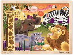 Melissa & Doug Puzzle drewniane równiny afrykańskie