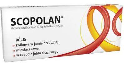 Scopolan 10 mg 30 tabletek drażowanych