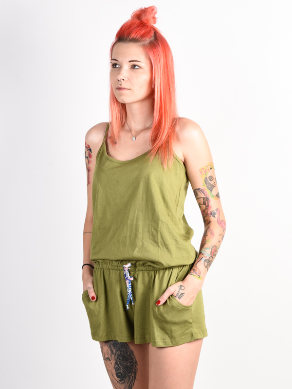 Picture Poppy 2 green krótkie sukienki - L