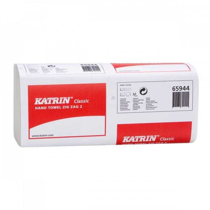 Ręcznik papierowy składany Katrin Classic ZZ 2 Biały