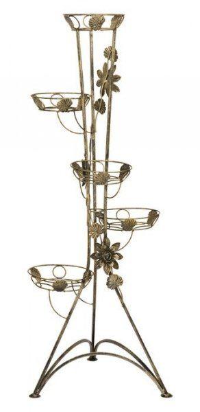 Kwietnik metalowy - 5-ka Róża - Dostępny w 7 Kolorach - Kwietnik Metalowy