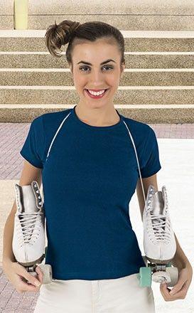 T-shirt Koszulka damska z krótkim rękawem bawełna Valento Hanna