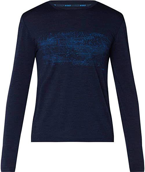 McKINLEY Męska koszulka Curra, Navy Dark, L