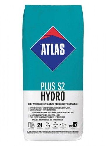 Klej Atlas Plus S2 Hydro wysokoodkształcalny z funkcją hydroizolacji 15 kg