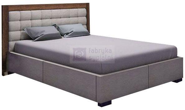 Łóżko tapicerowane Azurro z pojemnikiem New Design