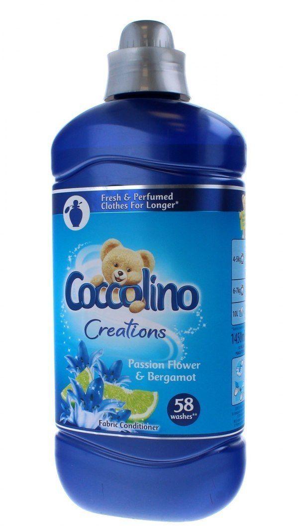 Coccolino Coccolino Creations Płyn do płukania tkanin Passion Flower & Bergamot 1450ml