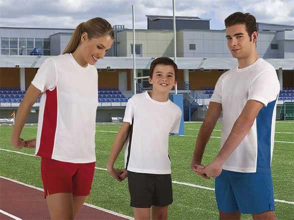 T-shirt koszulka dwukolorowa sportowa techniczna termoaktywna oddychająca szybkoschnąca poliestrowa bielizna termiczna CrossFIT