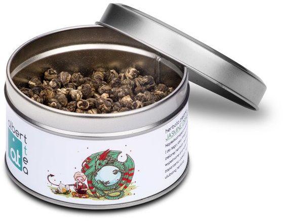 Albert Tea Jasmine Dragon Pearls - Puszka