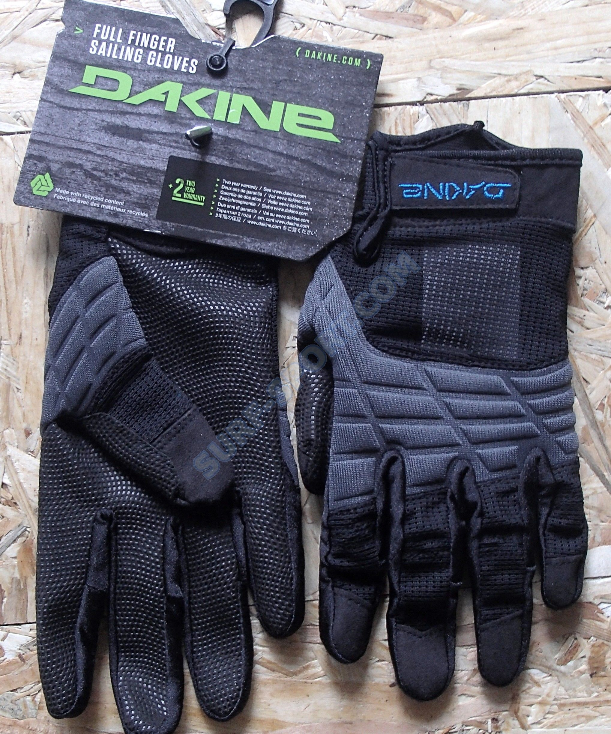 Rękawice Dakine Full Finger Sailing Black