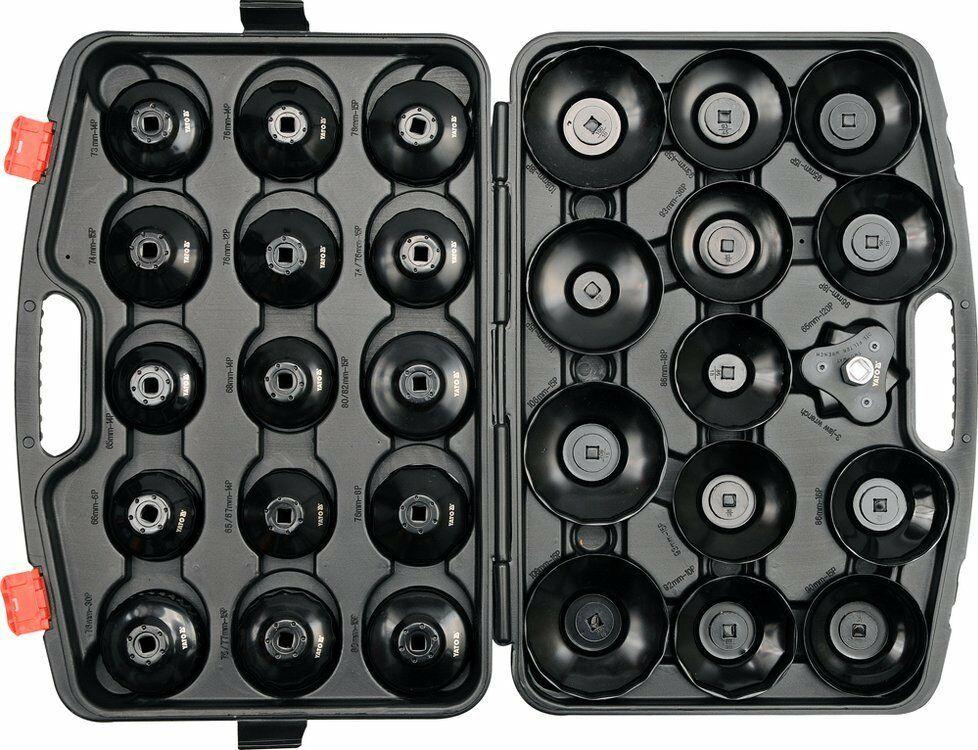 Klucze nasadowe do filtrów oleju kpl. 30 szt. Yato YT-0596 - ZYSKAJ RABAT 30 ZŁ