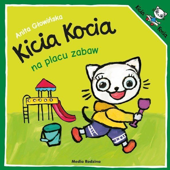 Kicia Kocia na placu zabaw.