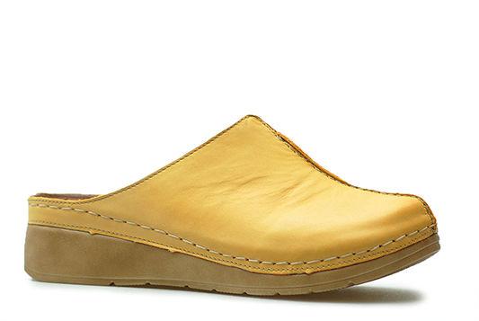 Klapki Stella 922 Żółte 9 lico