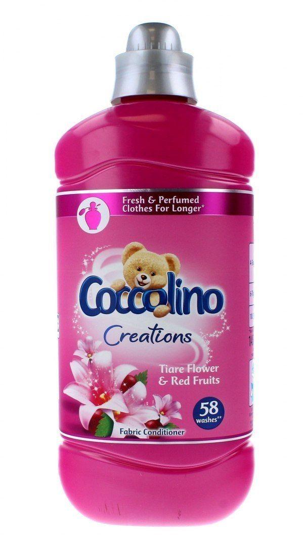 UNILEVER Coccolino Creations Płyn do płukania tkanin Tiare Flower & Red Fruits 1450ml