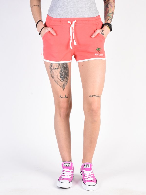 Rip Curl REVIVED CALYPSO CORAL panie sweat shorts - S