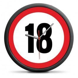 Zegar na 18 urodziny