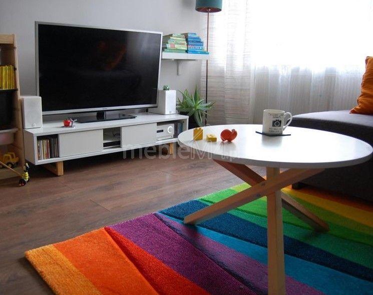 Szafka RTV DESAV1 w stylu skandynawskim