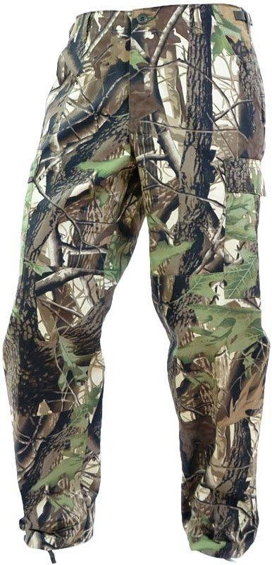 Mil-Tec Spodnie BDU Wzmocnione Leśne Camo