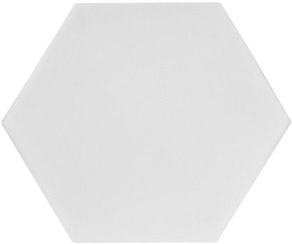Płytka dekoracyjna Merelia hexagon biały 0,51 m2