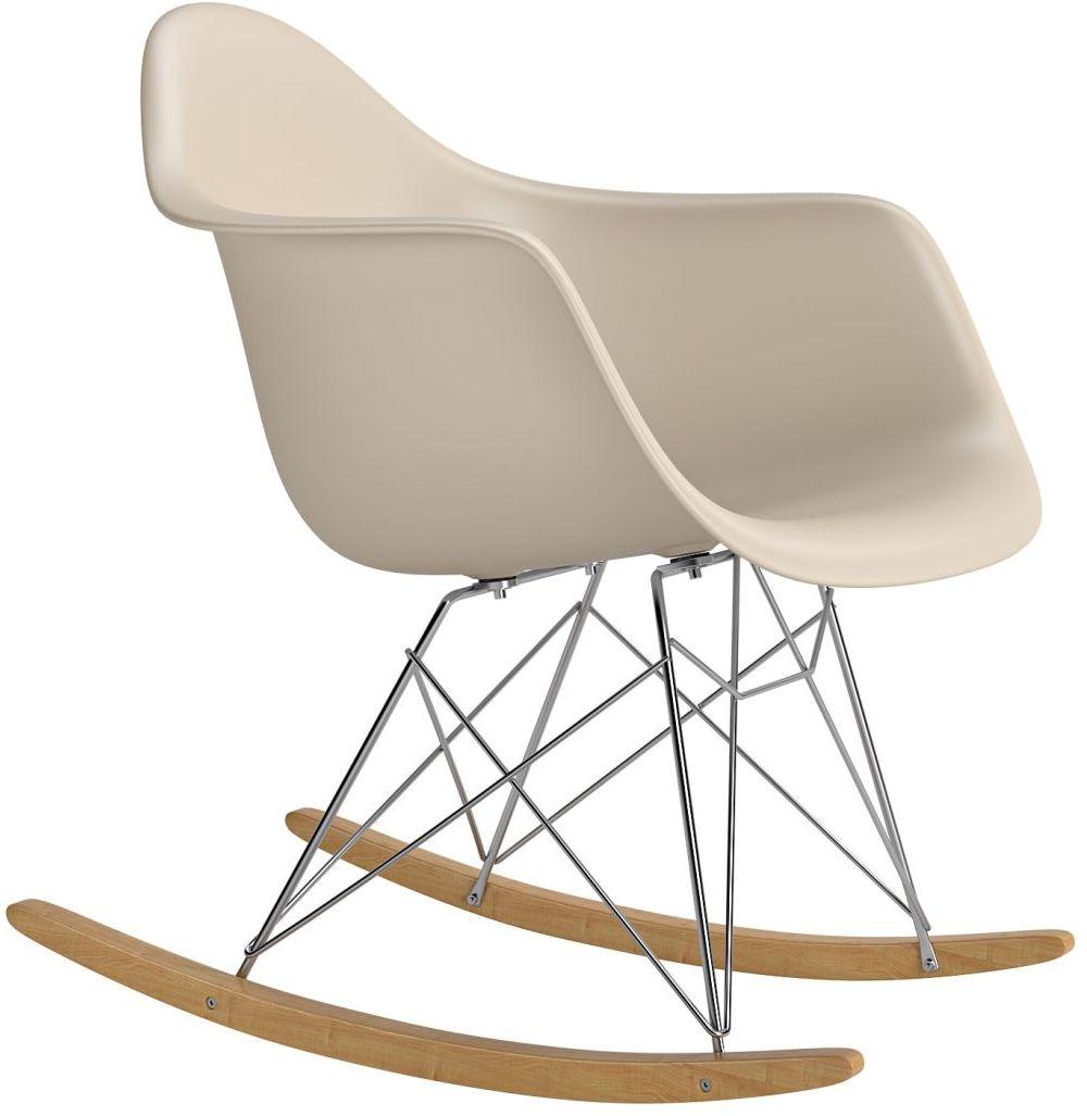 Krzesło bujane P018 RR PP beżowy