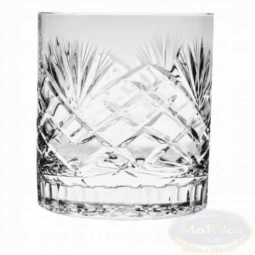 Kryształowe szklanki do whisky 350ml Ananas 6 sztuk