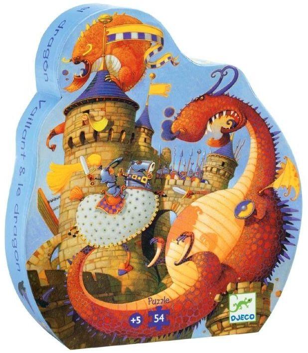 Puzzle w pudełku Uwolnić księżniczkę 54 el. DJ07256-Djeco, układanka dla dzieci