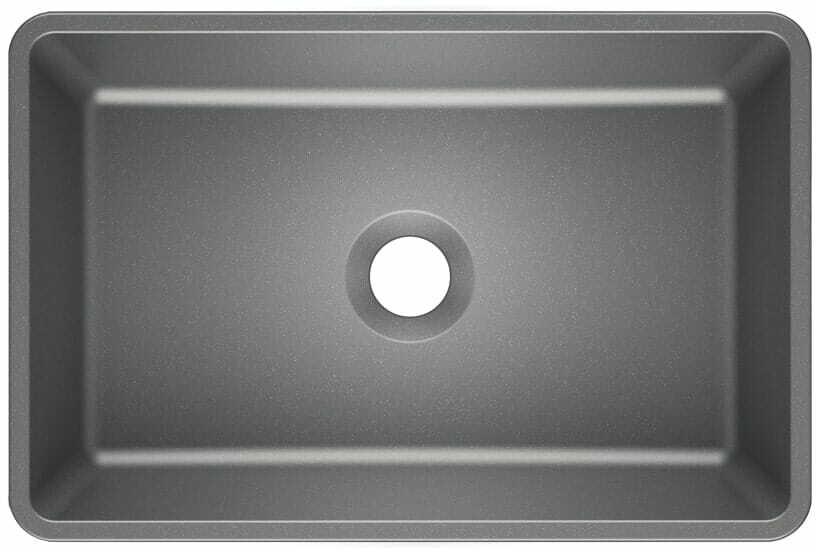 Umywalka nablatowa REVA 45 Moonlight grey