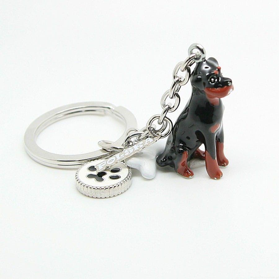 Brelok pies ANIMALS pies Rottweiler - a''la charms