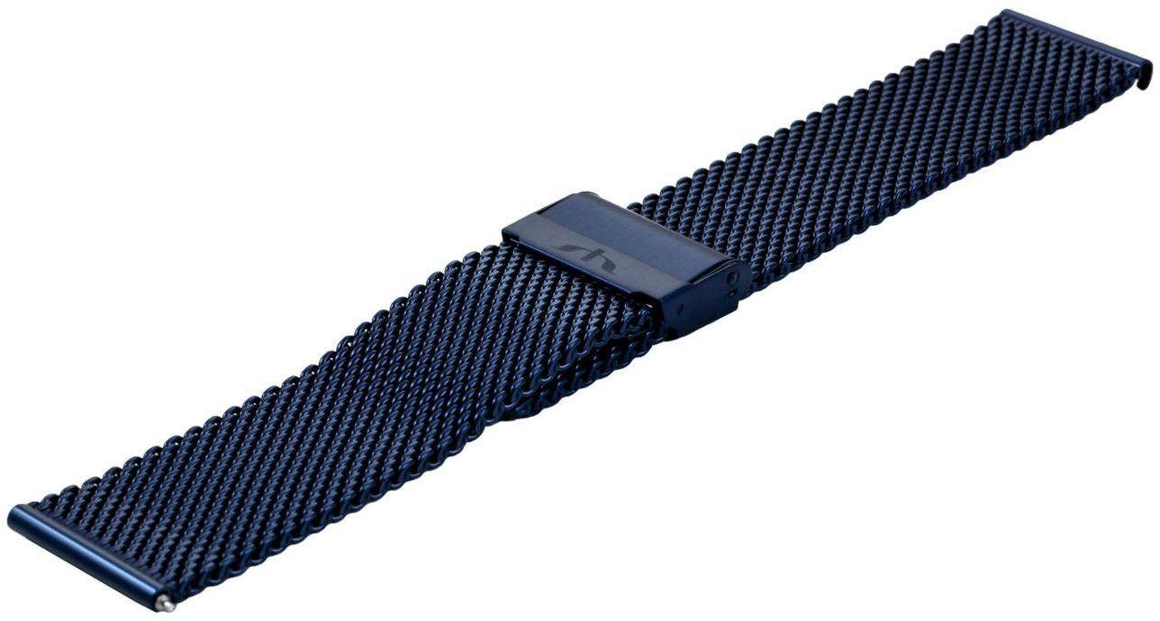 Bransoleta stalowa do zegarka 24 mm Bisset BM-102/24 Blue