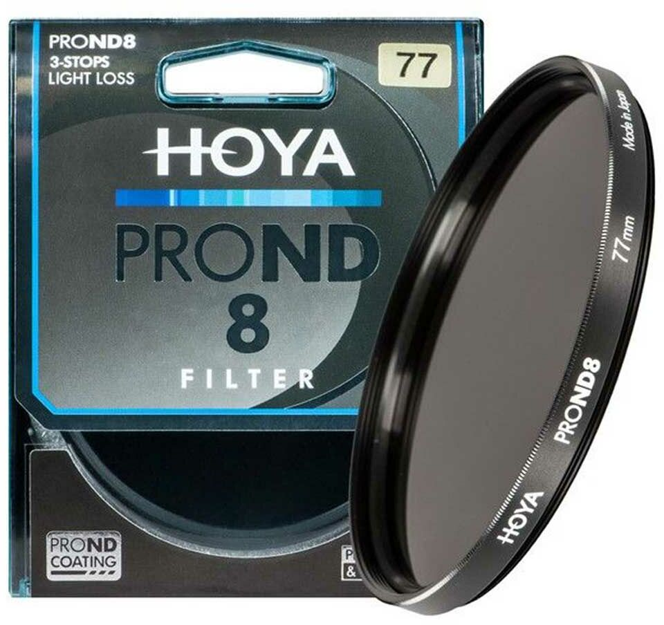 Filtr szary Hoya PRO ND8 49mm