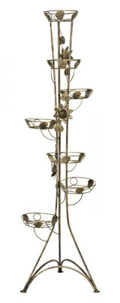 Kwietnik - 7-ka Róża - Dostępny w 7 Kolorach - Kwietnik metalowy
