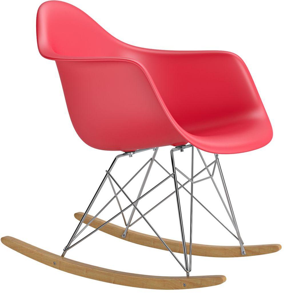 Krzesło bujane P018 RR PP czerwony