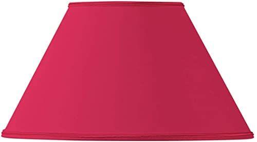 Klosz lampy w kształcie wiktoriańskim, Ø 25 x 11 x 15 cm, czerwony