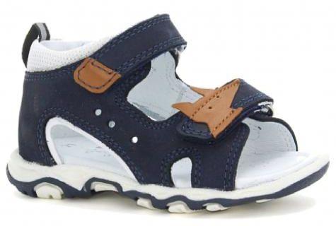 Bartek 71489/ 7 - BAM sandały sandałki dziecięce - granatowy