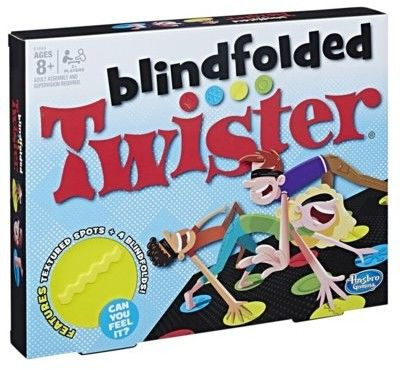 Gra Twister Blindfolded