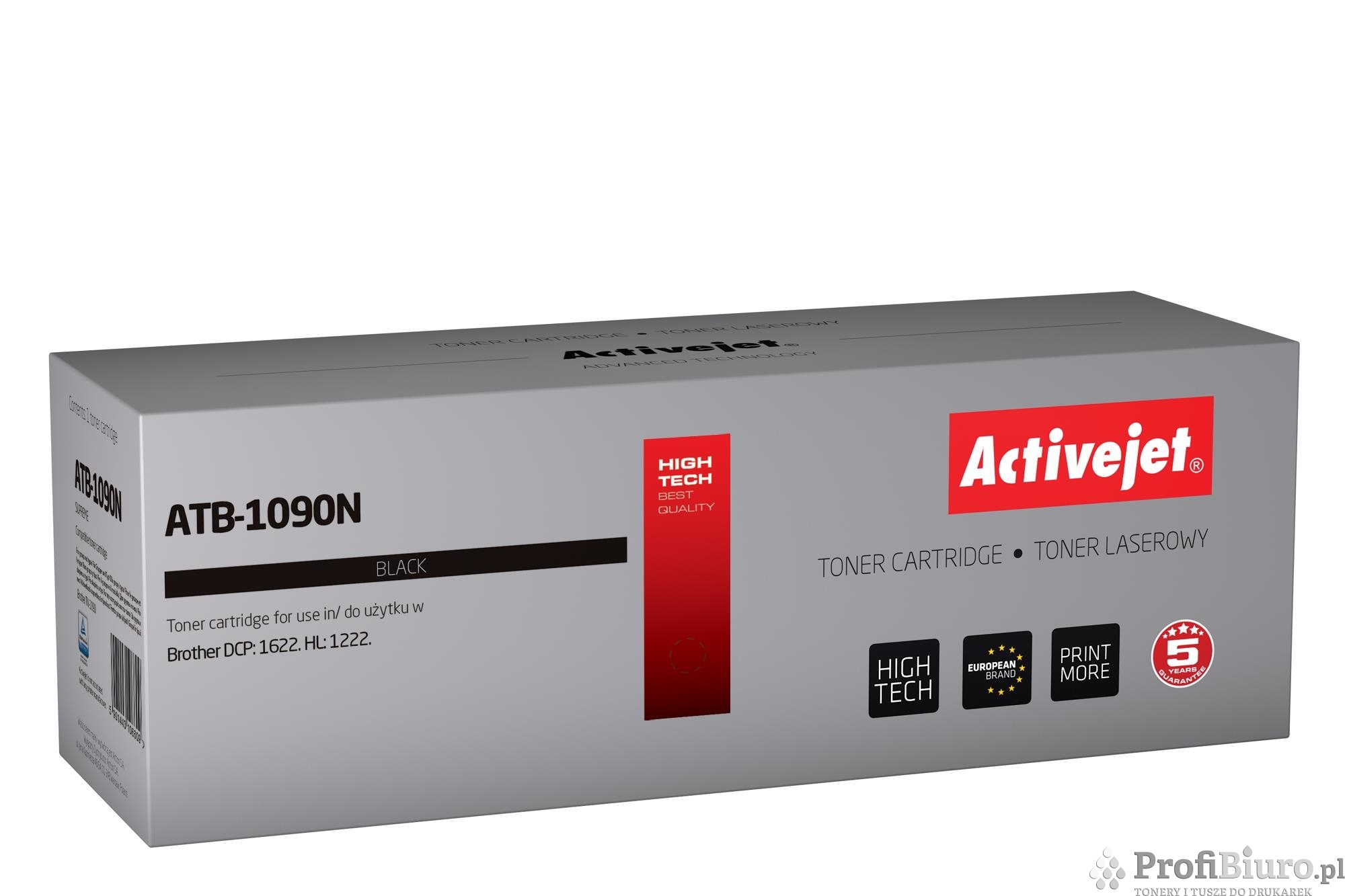 Toner Activejet ATB-1090N (zamiennik Brother TN-1090; Supreme; 1 500 stron; czarny)