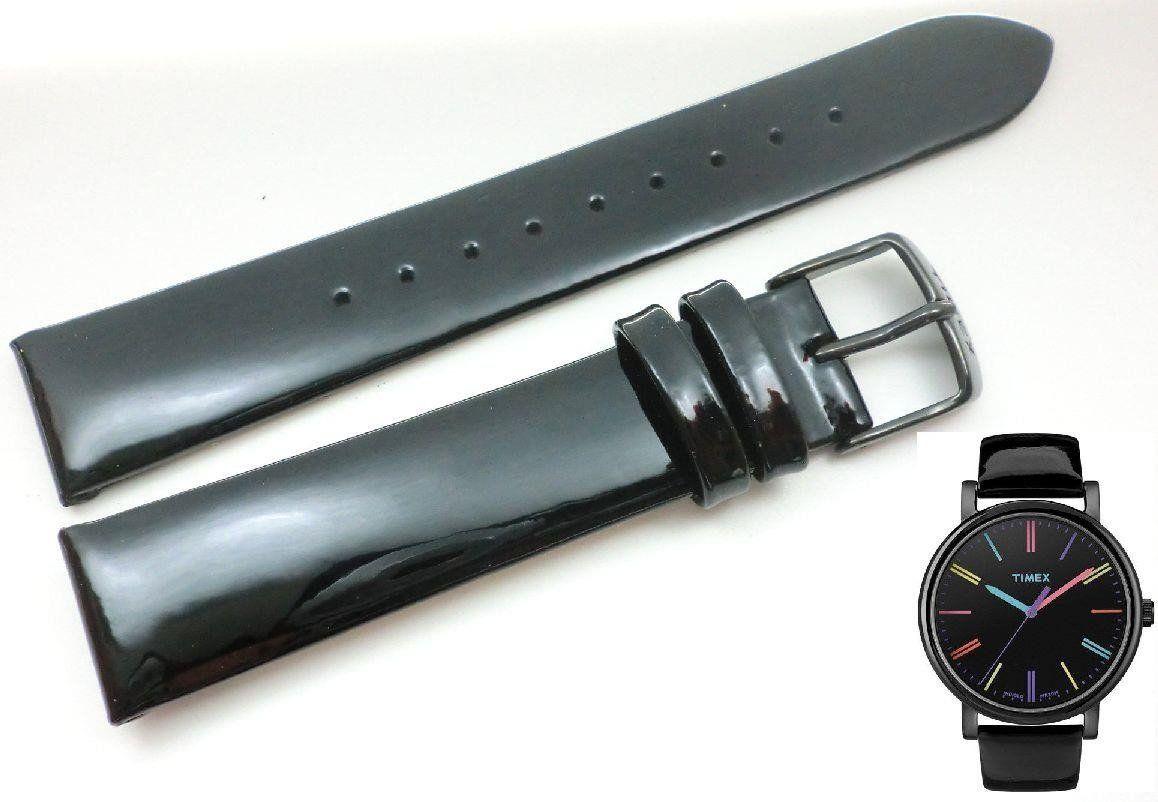 Pasek do zegarka Timex T2N790 P2N790 18 mm Skóra