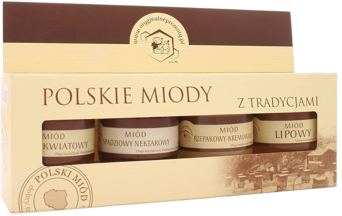 Zestaw polskie miody - Łysoń - 4x50g