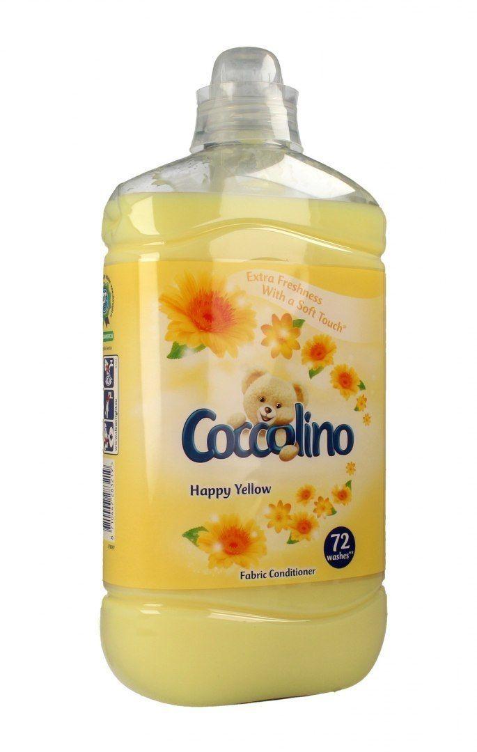 UNILEVER Coccolino Płyn do płukania tkanin Happy Yellow 1800ml