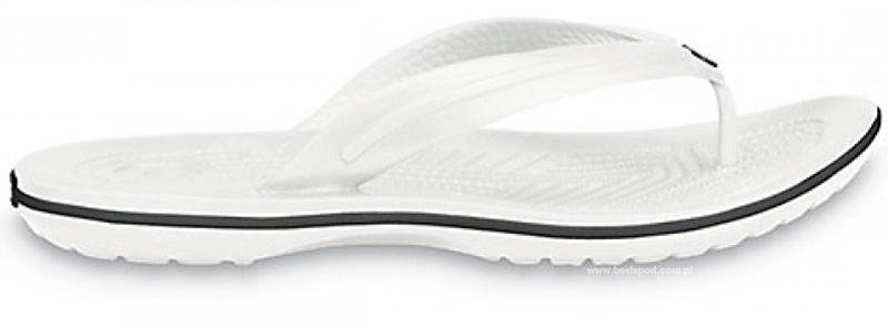 Japonki CROCS Crocband Flip białe11033100