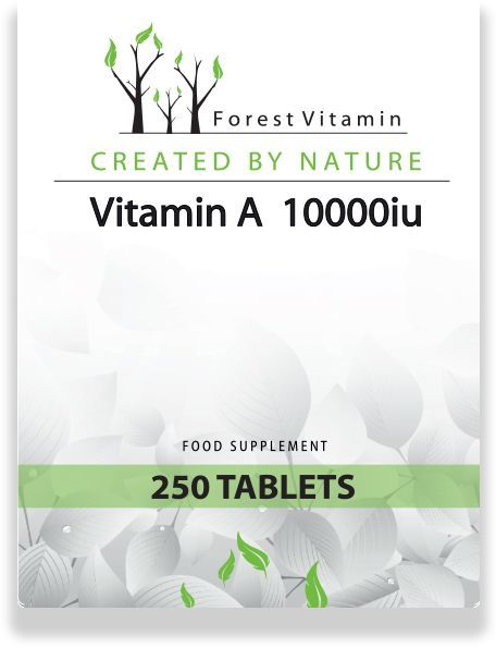 FOREST Vitamin Witamina A 250tab
